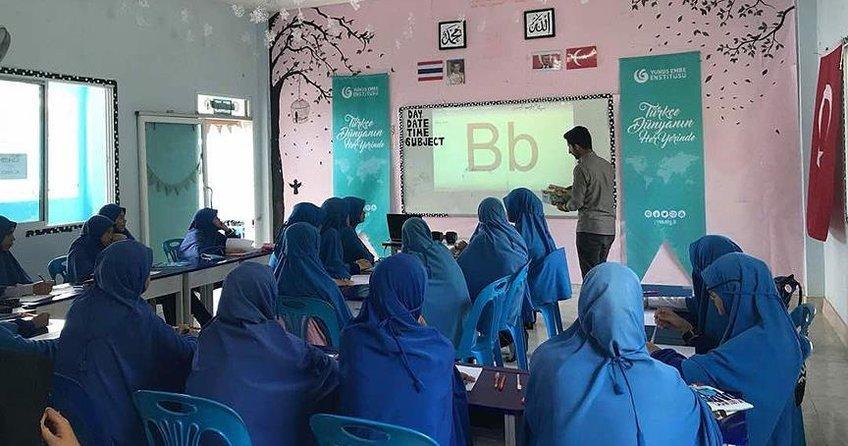 Türkçe dersi Taylandda okul müfredatına girdi