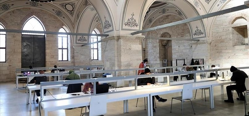 TURKEYS 1ST NATIONAL LIBRARY KEEPS UP WITH DIGITAL ERA