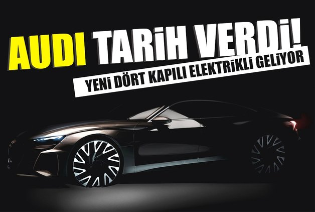 Audi tarih verdi! Yeni dört kapılı elektrikli geliyor