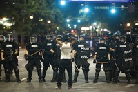Protests over killing of black man prompt state of emergency in Charlotte