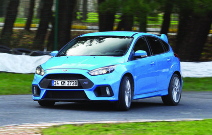 TEST · Ford Focus RS