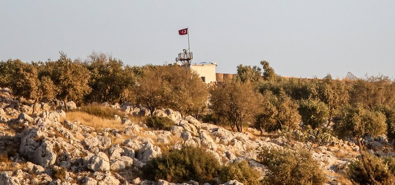 TURKISH FORCES REPEL REGIME ATTACK ON OBSERVATION POST IN IDLIB DE-ESCALATION ZONE IN NORTHWESTERN SYRIA