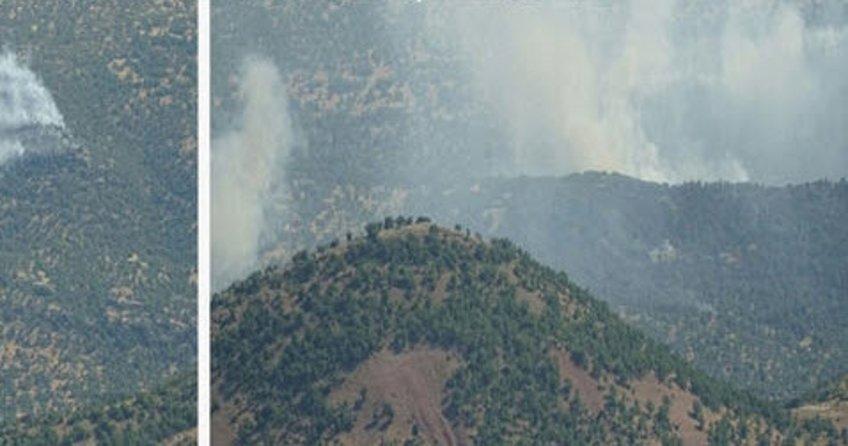 PKK'ya uyuşturucu ve mağara darbesi