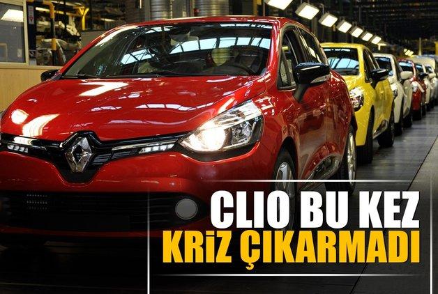 Clio bu kez kriz çıkarmadı