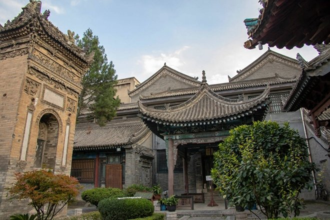 Xi'an Büyük Cami / Xi'an, Şensi, Çin