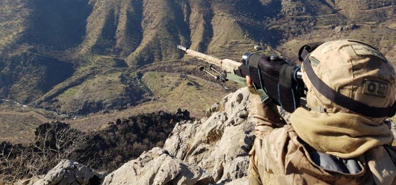 TURKEY NEUTRALIZES 3 YPG/PKK TERRORISTS IN N.SYRIA