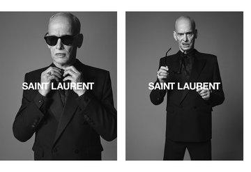 Saınt Laurent'in yeni reklam yüzü: John Waters