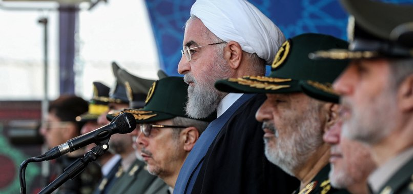 IRANS ROUHANI ACCUSES FOREIGN FORCES OF RAISING GULF INSECURITY