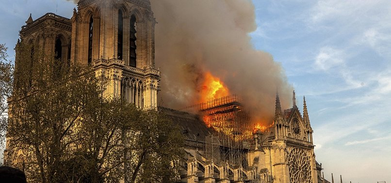 SHORT-CIRCUIT SUSPECTED CAUSE OF NOTRE DAME FIRE, POLICE OFFICIAL SAYS