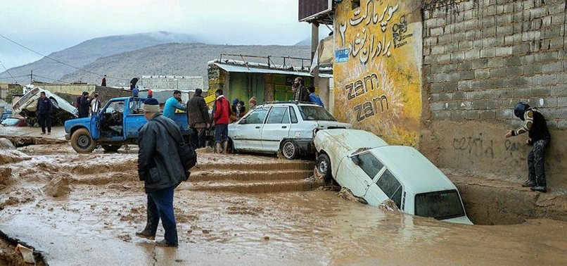 DEATH TOLL FROM IRAN FLOODS CLIMBS TO 27