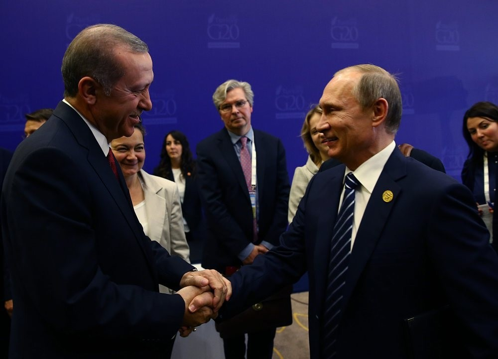 Once two close friends, President Erdou011fan (L) and Russian President Putin, seek to return to friendlier times, as they are expected to meet twice in August.