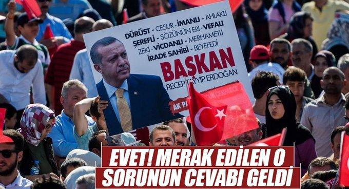 Erdoğan referandum için sahada olacak