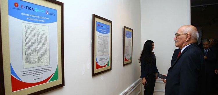 Azerbaycan'da tarihi belgeler sergilendi