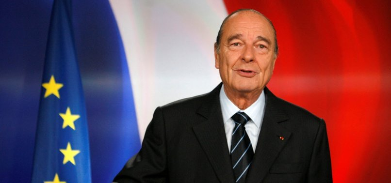 FORMER FRENCH PRESIDENT JACQUES CHIRAC DIES AT 86