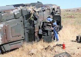 Şanlıurfa ve Trabzon'da zırhlı araç devrildi! Çok sayıda polis yaralı