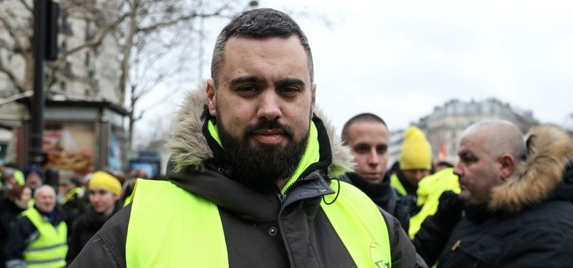 TOP YELLOW VEST ACTIVIST FINED FOR HOLDING UNAUTHORIZED PROTESTS