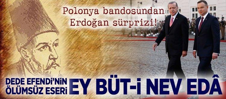 Polonya bandosundan Erdoğan sürprizi!