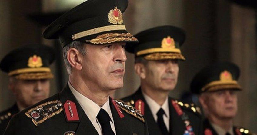 Genelkurmay Başkanı Orgeneral Akar'ın koruması tutuklandı