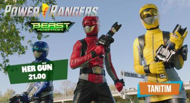 Power Rangers Nisan Tanıtım