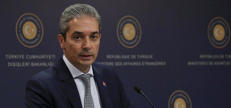 ANKARA CALLS ON EU TO CORRECT MISTAKE OVER TRAVEL LIST OMISSION