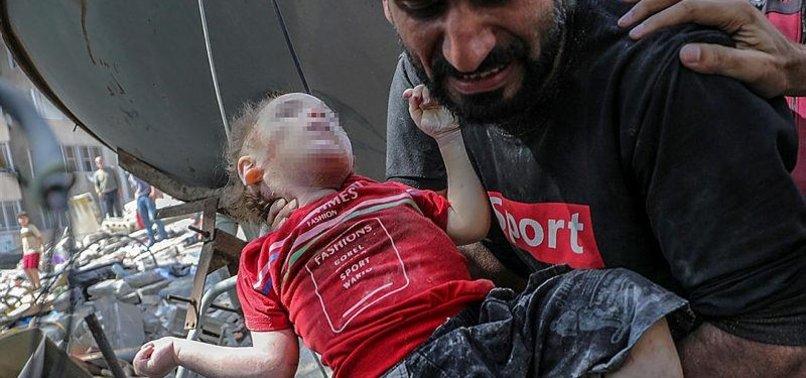 PALESTINIAN CHILDREN DEFENSELESS IN FACE OF ISRAELI ATTACKS