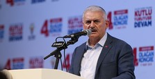 PM Yıldırım slams EP motion on Turkey's Afrin op