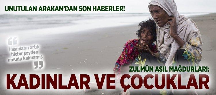 Arakan'daki zulmün asıl mağdurları: Kadın ve çocuklar