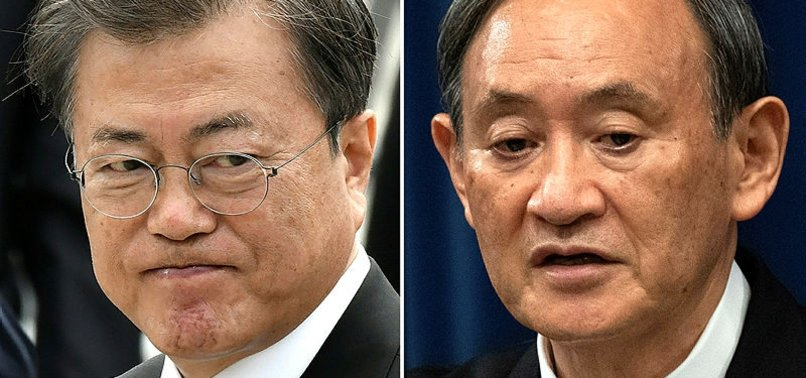 JAPAN PM TELLS SOUTH KOREA ITS TIME TO FIX STRAINED TIES
