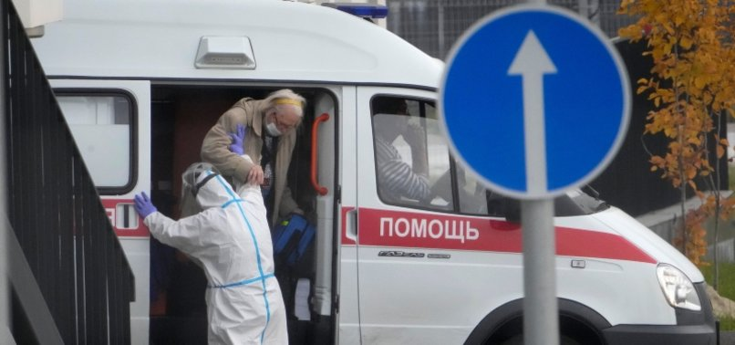 RUSSIA REPORTS RECORD DAILY COVID-19 DEATH TOLL FOR SECOND DAY RUNNING