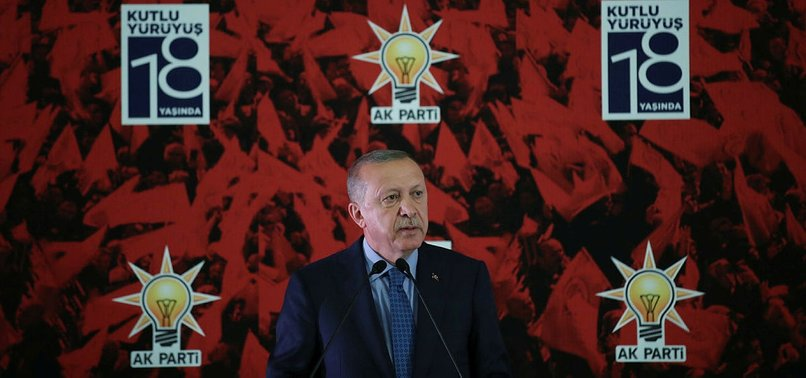 ERDOĞAN: WE SEE SERVICE TO JUSTICE AND NATION AS ONLY DUTY