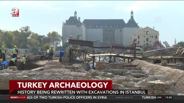 History being rewritten with Haydarpaşa excavations in Istanbul