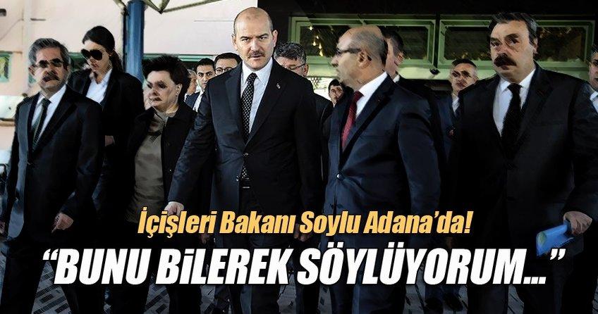 İçişleri Bakanı Süleyman Soylu Adana'da!