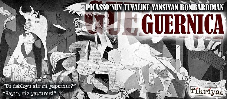 Picasso'nun tuvaline yansıyan bombardıman: Guernica