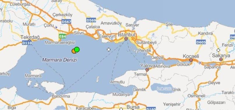 4.6 MAGNITUDE EARTHQUAKE SHAKES SOUTHWEST OF ISTANBUL