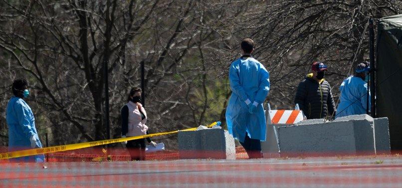 U.S. CORONAVIRUS DEATHS REACH 3,393, EXCEEDING DEATH TOLL IN CHINA