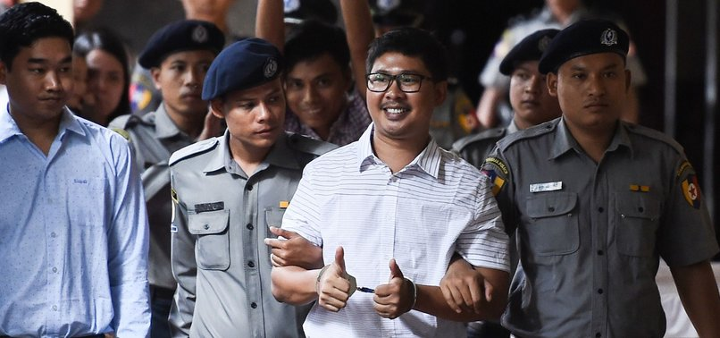 MYANMARS TOP COURT REJECTS FINAL APPEAL BY JAILED REUTERS JOURNALISTS