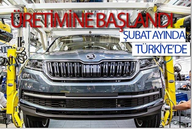 Üretimine başlandı, önümüzdeki yıl Türkiye'de