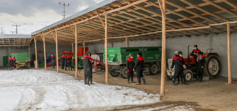 TURKEY PROVIDES TRAINING TO REFUGEES IN AGRICULTURE AND HUSBANDRY