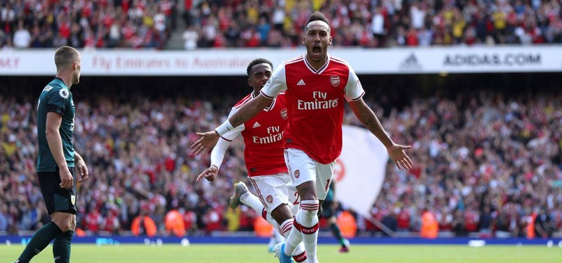 AUBAMEYANG SCORES ANOTHER WINNER, ARSENAL BEATS BURNLEY 2-1