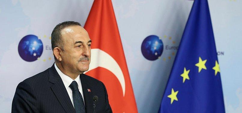 TURKEY, EU AGREE TO WORK ON ROADMAP FOR CONCRETE STEPS IN RELATIONS: FM ÇAVUŞOĞLU