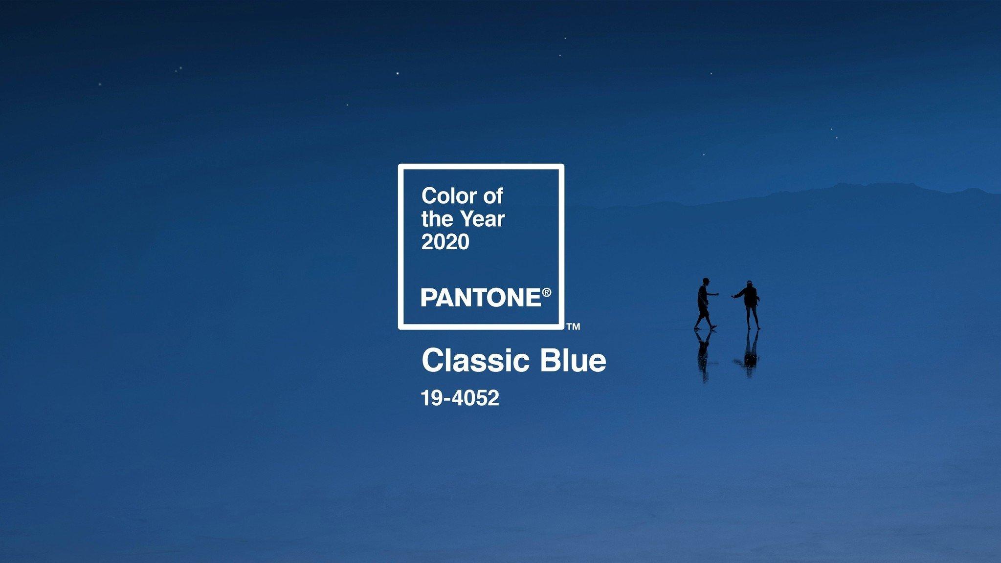 PANTONE 2020'NİN RENGİNİ AÇIKLADI: KLASİK MAVİ
