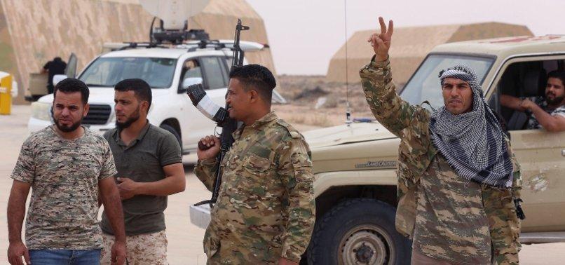 LIBYAN ARMY GAINING GROUND SOUTH OF TRIPOLI