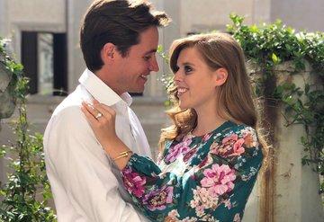 İngiltere Prensesi Beatrice nişanlandı