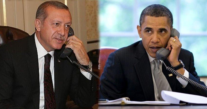 Cumhurbaşkanı Erdoğan Obama ile ne konuştuklarını açıkladı