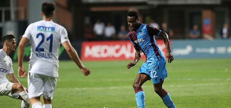 TRABZONSPOR DRAW WITH KASIMPAŞA 1-1 IN TURKISH LEAGUE