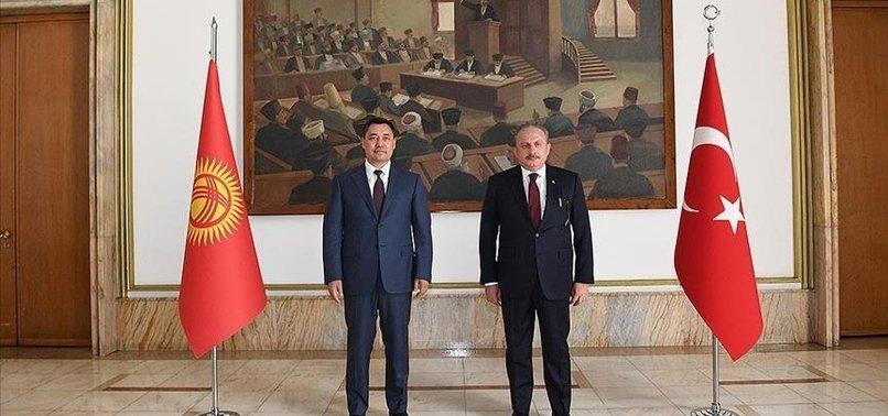 TURKISH PARLIAMENT SPEAKER WARNS OF FETOS GLOBAL THREAT
