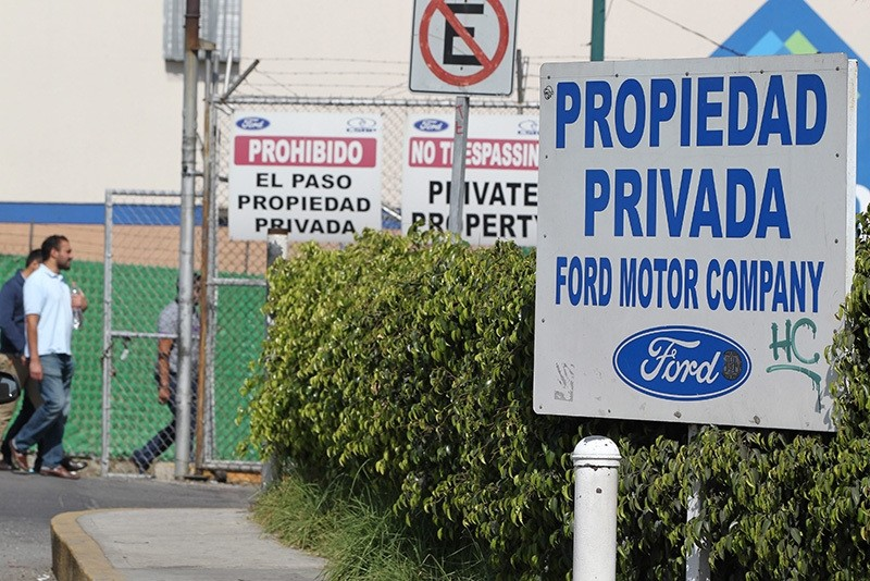 General view of the Ford car plant in the city of Cuautitlan, Mexico, 03 january 2017 (EPA Photo)