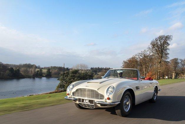 Aston Martin Heritage EV Konsept
