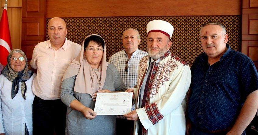 Alman kadın TIR şoförü İslamı seçti