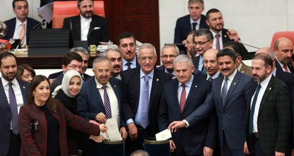 To reach a referendum, the proposed changes must first be passed by 330 deputies. If it gets the support of 367 lawmakers it could pass into law without a referendum, though the ruling Justice and...